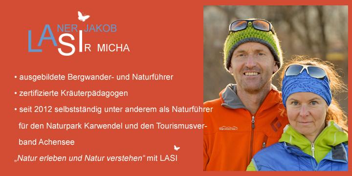 Naturführer und Wanderführer von LASI