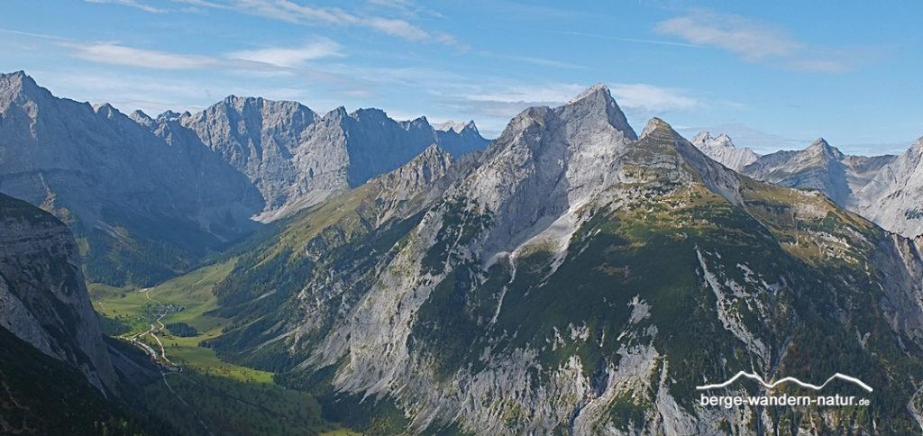 Karwendeldurchquerung - wandern im Naturpark Karwendel