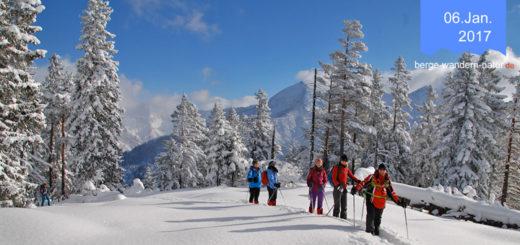 Bad Tölz Schneeschuhwandern