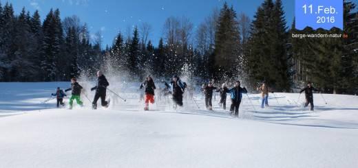 Schneeschuhwanderung-mit-Jugendlichen des FSJ