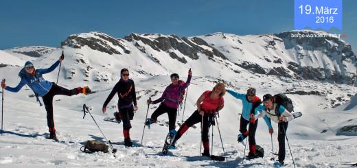 Schneeschuhtour im Rofan