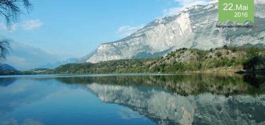 Wandern in den Bergen am Gardasee