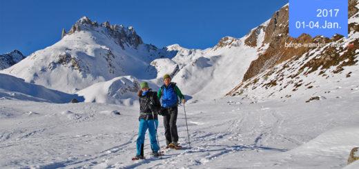 Schneeschuhwandern im Tessin