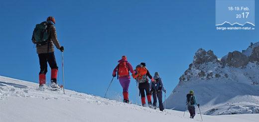 Schneeschuhtour mit Hüttenübernachtung