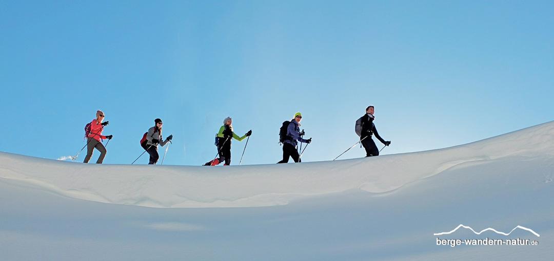 3 Tages-Schneeschuhwanderung im Rofan