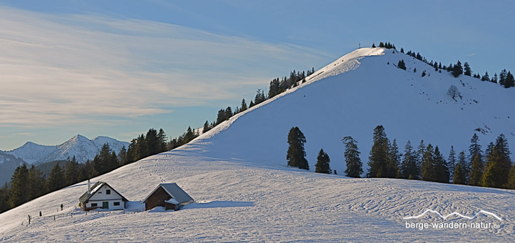 Schneeschuhwandern Lenggries Jachenau