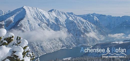 Schneeschuhwandern Achensee und Rofan