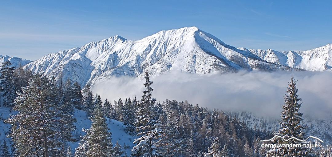Schneeschuhwandern Achensee Karwendel