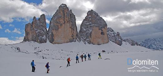 Dolomiten Schneeschuhwandern