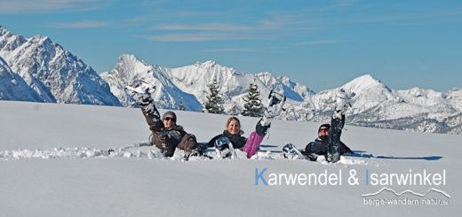 Schneeschuhwandern Karwendel