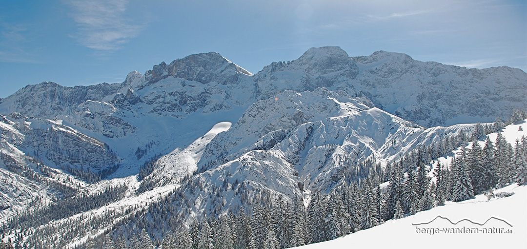 Schneeschuhwandern Karwendel Isarwinkel
