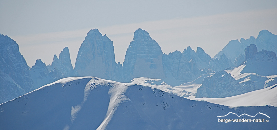 Dolomiten Schneeschuhwandern- Berge-Wandern-Natur.de