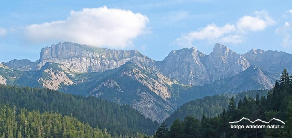 24 Stunden Wanderung Achensee Rofan mit LASI