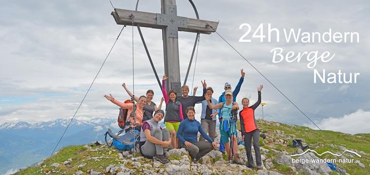 24 Stunden Wandern-Berge-Natur
