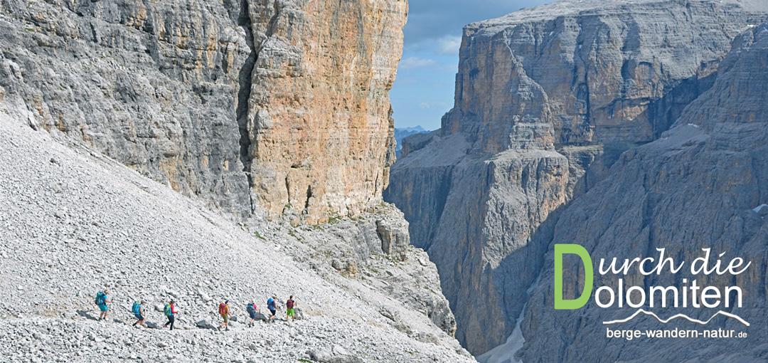 gefuehrte Wanderwoche in den Dolomiten