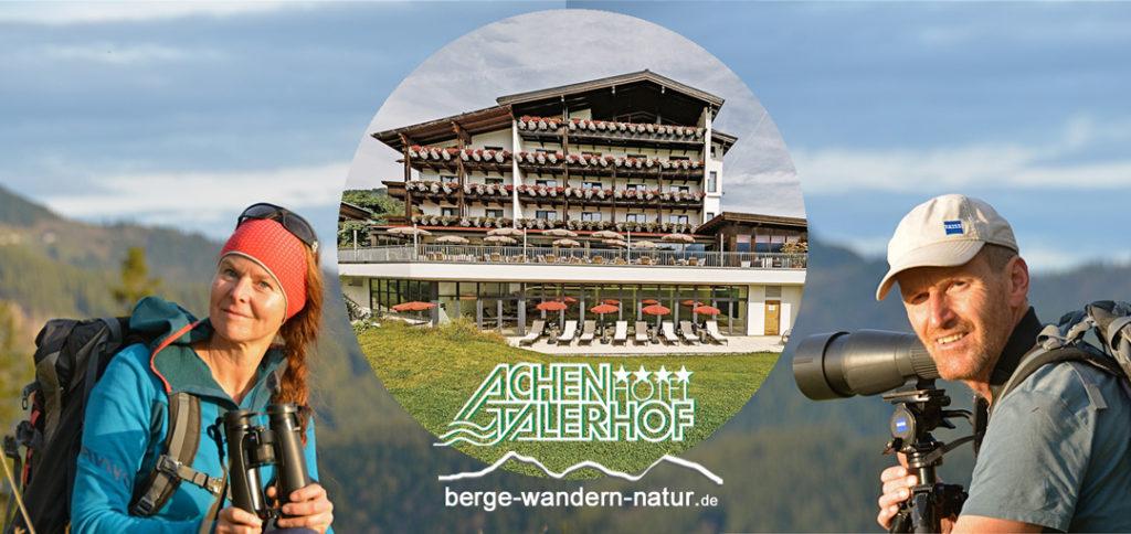 Hotel Achentalerhof mit Wanderführer von Lasi