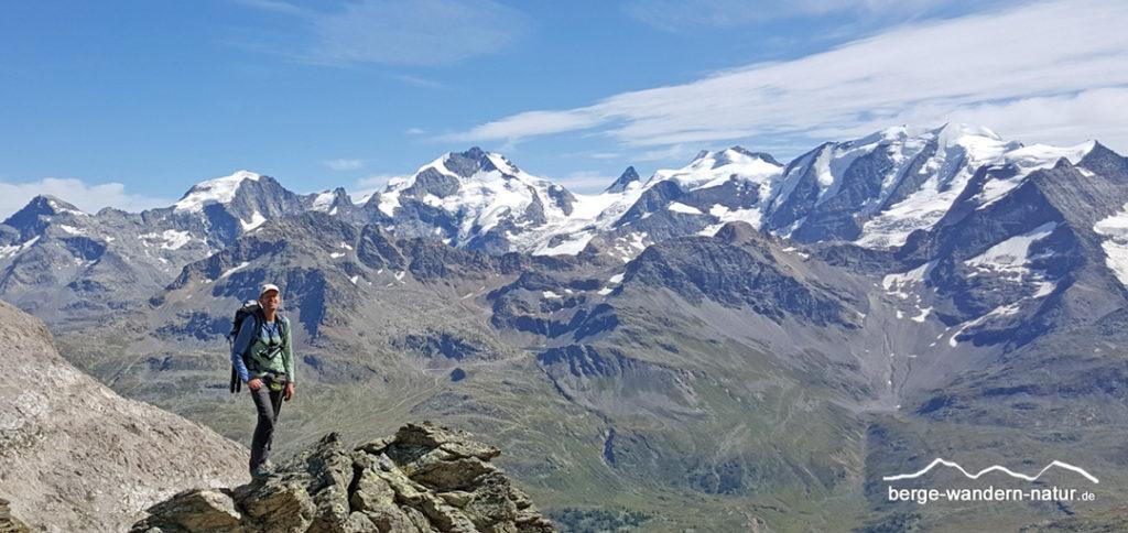 geführte Wanderung Berninagruppe